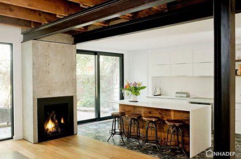 Chiêm ngưỡng một ngôi nhà được cải tạo lại tại Quebec