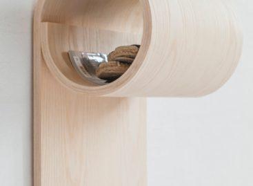 Små Ting: chiếc kệ gỗ cho những không gian nhỏ
