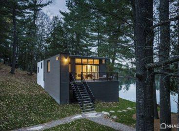 Vẻ mộc mạc của căn nhà mang phong cách đồng quê ở Quebec