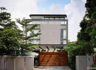 Ngôi nhà hiện đại, sang trọng ở Singapore