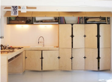 Hệ thống tủ kệ tiện dụng cho những không gian nhỏ