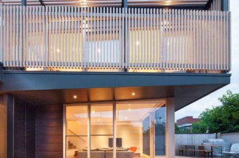 Căn nhà Chestnut Street được thiết kế bởi Tim Spicer Architects và Felicity Dessewffy