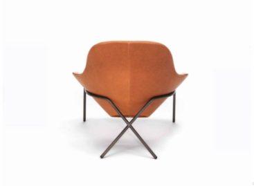 Ghế bành chân chéo độc đáo được thiết kế bởi studio Magnus Long