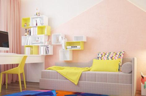 Ấn tượng với 4 thiết kế phòng trẻ em đầy màu sắc