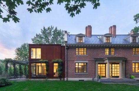 Ngôi biệt thự dành cho nhà sưu tầm tác phẩm nghệ thuật tại Mỹ