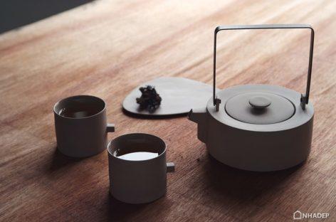 Bộ tách trà với kiểu dáng độc đáo của Chuntso Liu