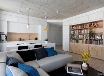 Thiết kế độc đáo cho căn hộ nhỏ ở Vilnius