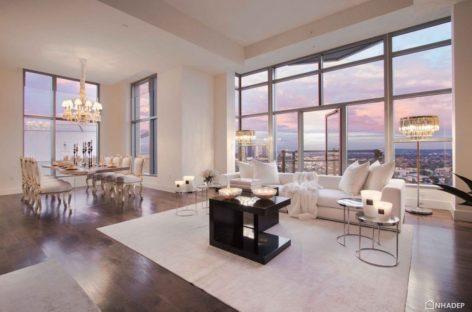 Căn hộ penthouse độc đáo tại Carlyle được thiết kế bởi Premier Stager