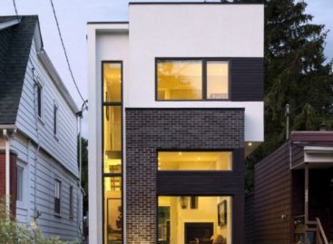 Ngôi nhà Linear hiện đại có thiết kế mở ở Canada