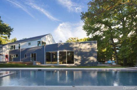 Thiết kế mới hiện đại cho ngôi nhà có phong cách kiến trúc thuộc địa ở New York