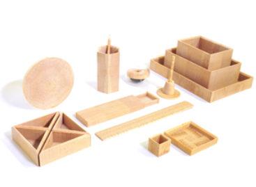 Vẻ đẹp tự nhiên của những sản phẩm làm từ các mảnh gỗ thông vụn