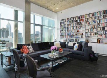 Hai căn hộ penthouse kết hợp thành một: Dự án Chicago Hi-Rise