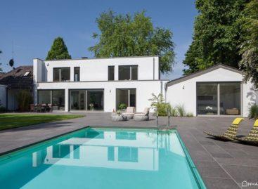 Khám phá ngôi nhà hiện đại ở Meerbusch được thiết kế bởi Holle Architeckten
