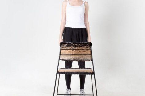 Thêm nét mới lạ cho chiếc ghế với sợi tái chế