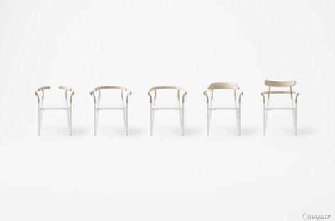 Thiết kế tối giản của ghế Twig