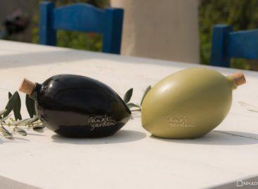Lọ đựng dầu Oliu bằng gốm được thiết kế bởi Marios Karystios