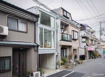 Kiến trúc độc đáo của ngôi nhà rộng 3.4 m ở Nhật