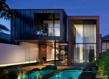 Abstract House kết hợp giữa kiến trúc cổ điển và hiện đại