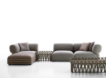 Bộ ghế sofa ngoài trời của nhà thiết kế Patria Urquiola