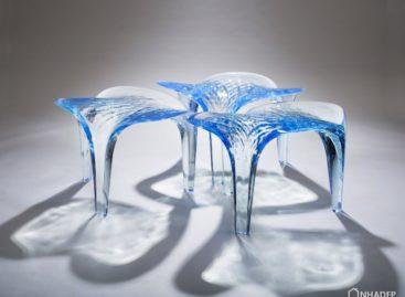 Bộ sưu tập nội thất Liquid Glacial của Zaha Hadid