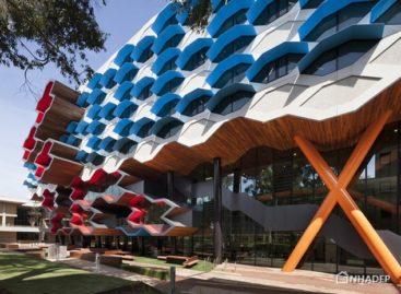 Thiết kế mới lạ và màu sắc cho học viện khoa học La Trobe ở Úc