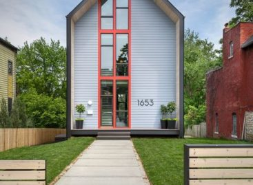 Ngôi nhà thiết kế đơn giản ở thành phố Kansas