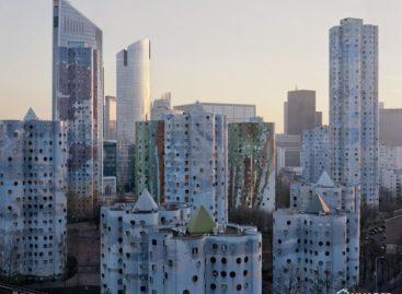 Những tòa chung cư khổng lồ ở Paris