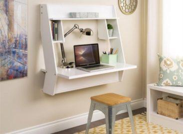 Tám kiểu bàn gắn tường tiết kiệm diện tích trong các không gian nhỏ