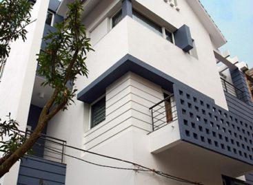 Cải tạo biệt thự xây thô với phong cách giản dị