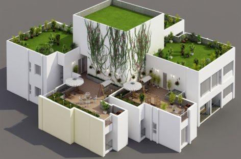 Căn hộ Penthouse Duplex Additional Sky Garden – khu Rừng Cọ Ecopark tại Hưng Yên