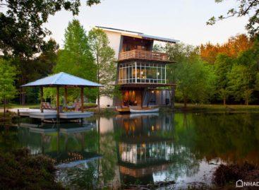 Ngắm nhìn vẻ đẹp của The Pond House ven hồ ở tiểu bang Louisiana