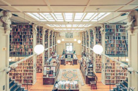Chiêm ngưỡng vẻ đẹp các thư viện trên thế giới qua ống kính của nhiếp ảnh gia Franck Bohbot