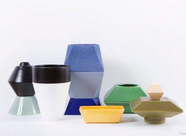 Thiết kế mới cho bình gốm Elise Luttik + Hester Stolk
