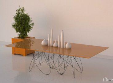 Thiết kế độc đáo cho chiếc bàn Quantum