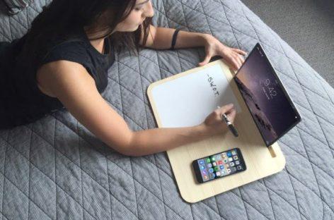 Ngắm nhìn bàn laptop Tab với thiết kế tối giản