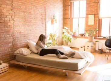 Thiết kế chiếc giường nhỏ gọn cho không gian hẹp