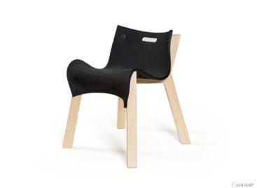 Ghế La Eva với thiết kế đơn giản