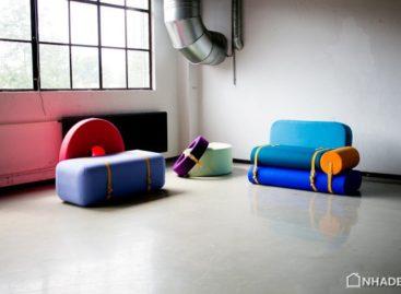 Nội thất đa sắc màu cho phòng khách