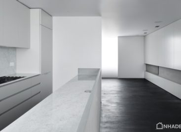 Căn hộ Abercorn Place với thiết kế tối giản và màu sắc trung tính