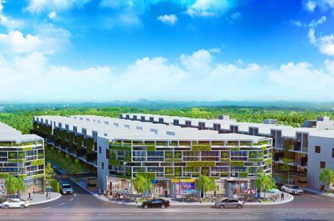 Nhà phố xanh ở khu Đông Sài Gòn