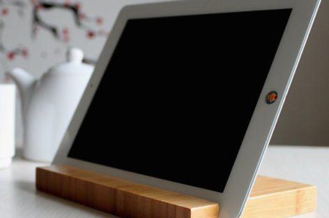 Tiện lợi với giá đỡ Bamboo dành cho máy tính bảng