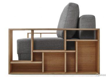 Những chiếc ghế sofa kết hợp kệ tiện dụng