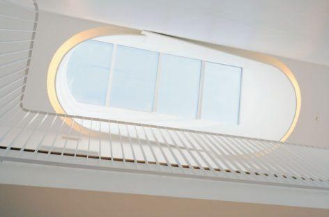 Thiết kế giếng trời trong nhà ở hiện đại