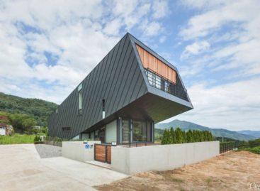 Cấu trúc khác biệt của những căn nhà nghiêng