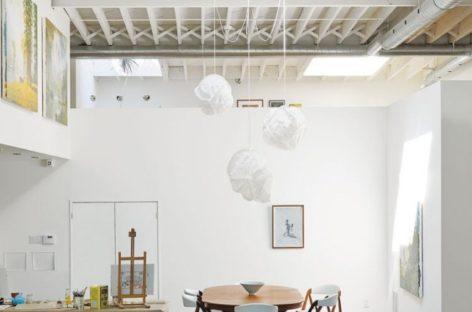 Sự kết hợp giữa nhà ở và những studio nghệ thuật