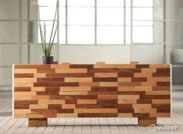 Bộ sưu tập nội thất thông minh bằng gỗ tái chế của Kann Design
