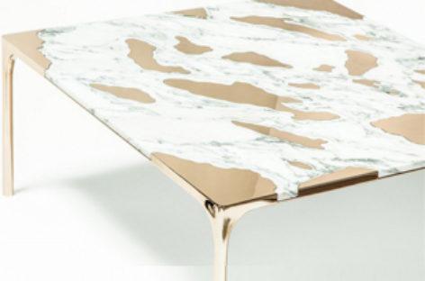 Marble vs Bronzen – chiếc bàn cà phê độc đáo kết hợp giữa cẩm thạch và đồng