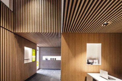 Văn phòng Arquia Banca có thiết kế ấn tượng tại Tây Ban Nha