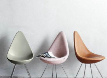 Drop chair – Vẻ đẹp từ những đường nét giản đơn