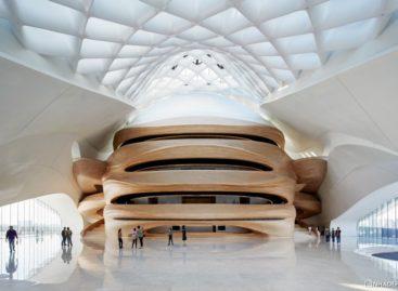 Chiêm ngưỡng kiến trúc tuyệt đẹp của nhà hát Cáp Nhĩ Tân tại Trung Quốc
